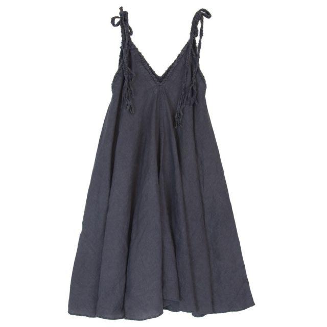 Woven Strings Dress Salopette Grey by Kaval