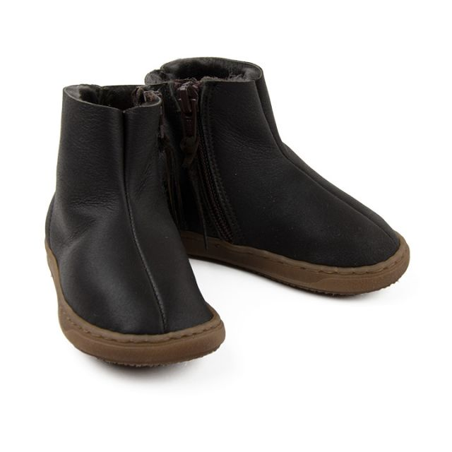 Baby Soft Leather Boots Montone by Pepe Children Shoes