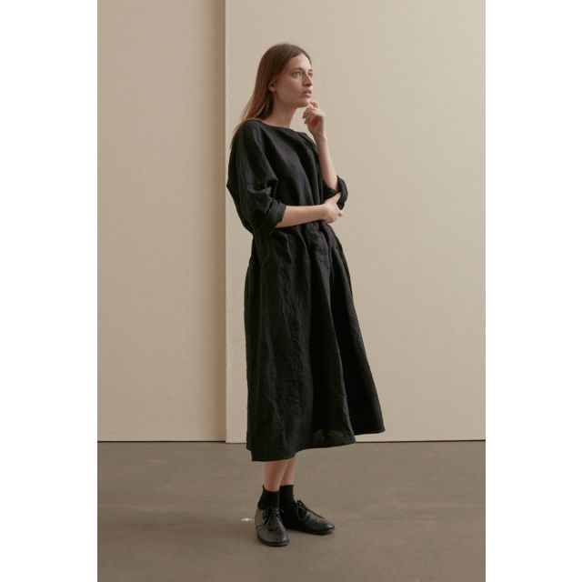 Woolen Dress Black by ApuntoB