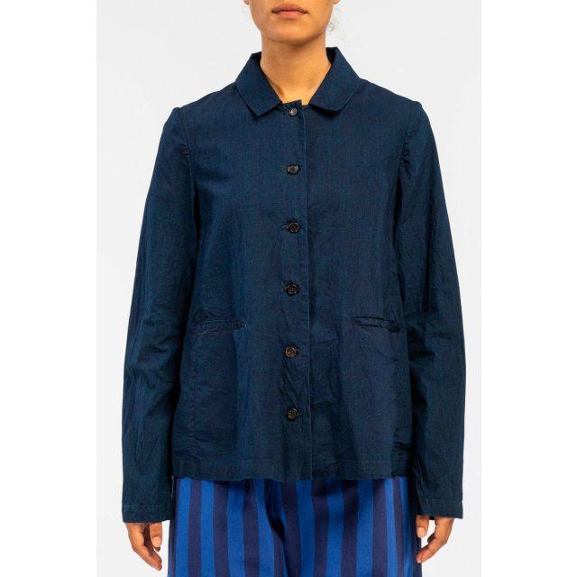 Cotton Jacket Dark Blue by ApuntoB
