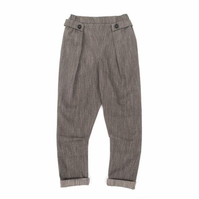 Trousers Pado Herringbone by Anja Schwerbrock