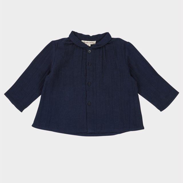 Baby Shirt Raven Dark Navy by Caramel