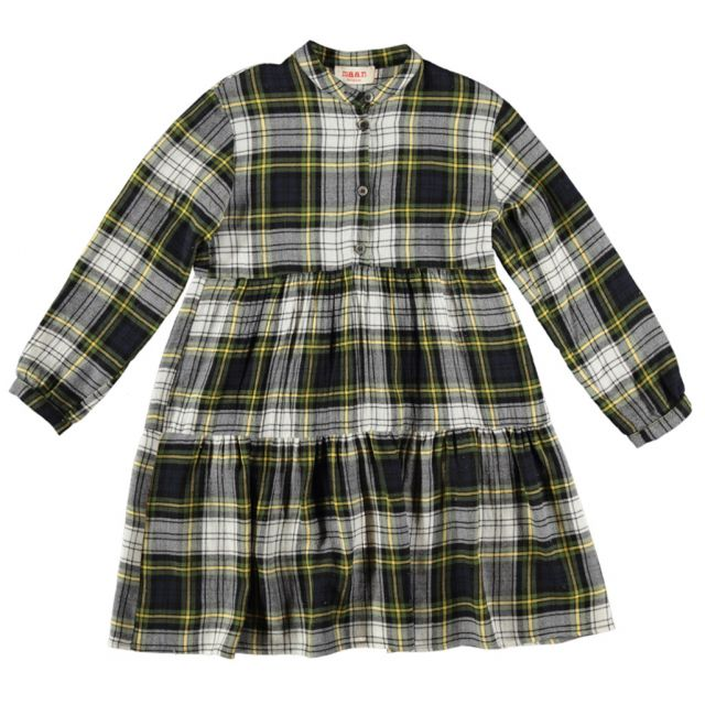 Dress Shiele Green Check by Maan