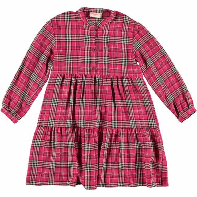 Dress Shiele Cherry Check by Maan