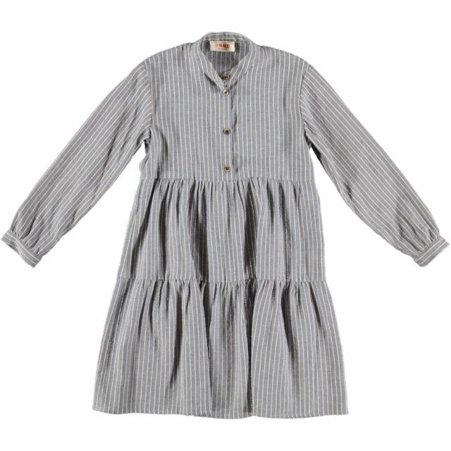 Dress Shiele Blue White Stripes by Maan