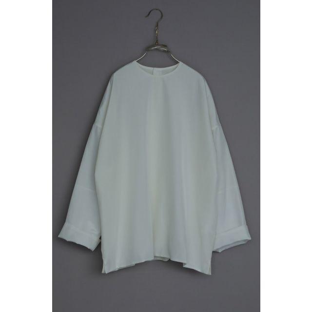 Silk and Cotton Shirt Silvan White by Ecole de Curiosites