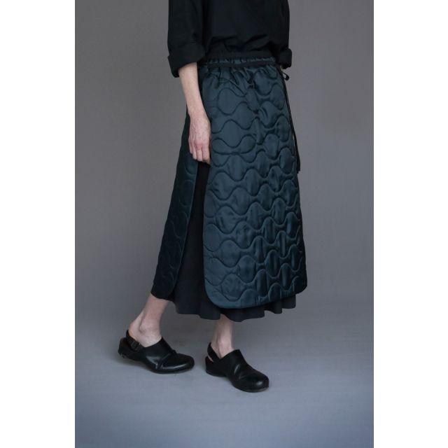 Reversible Silk and Cotton Skirt Stella by Ecole de Curiosites