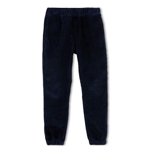 Cord Trousers Storm Sailor Blue by Finger in the Nose