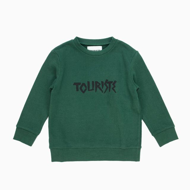 Sweatshirt Cannone Green by Touriste