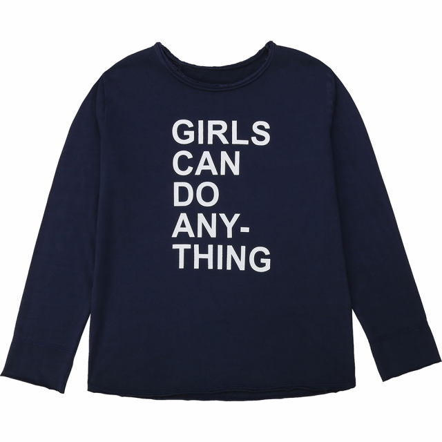 T-Shirt Anie Navy Blue by Zadig & Voltaire
