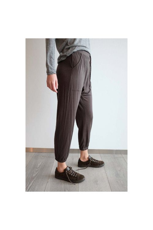 Fine Cashmere Pants Brown by Private0204-S