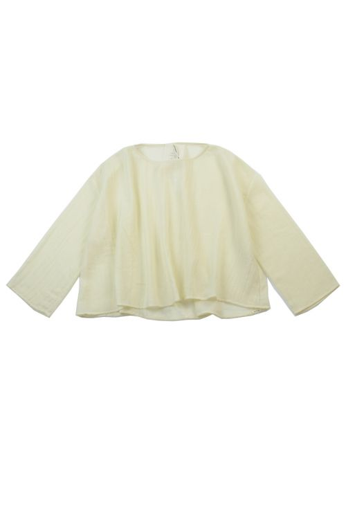 Cashmere Wide Blouse Milk by ApuntoB