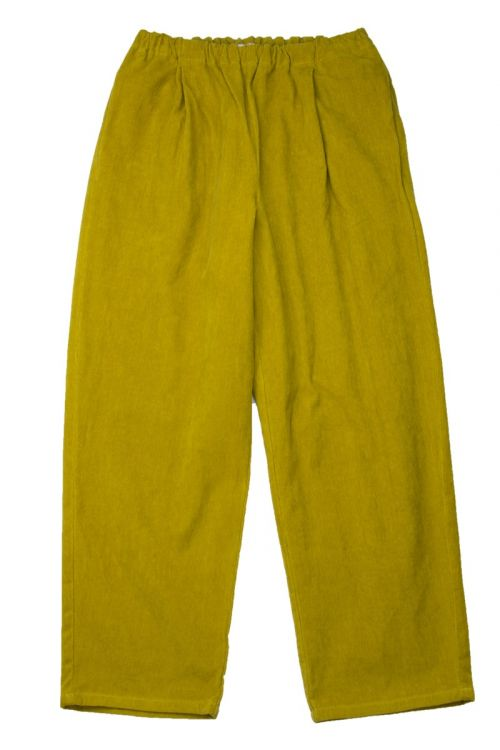 Cord Trousers Ochre by ApuntoB