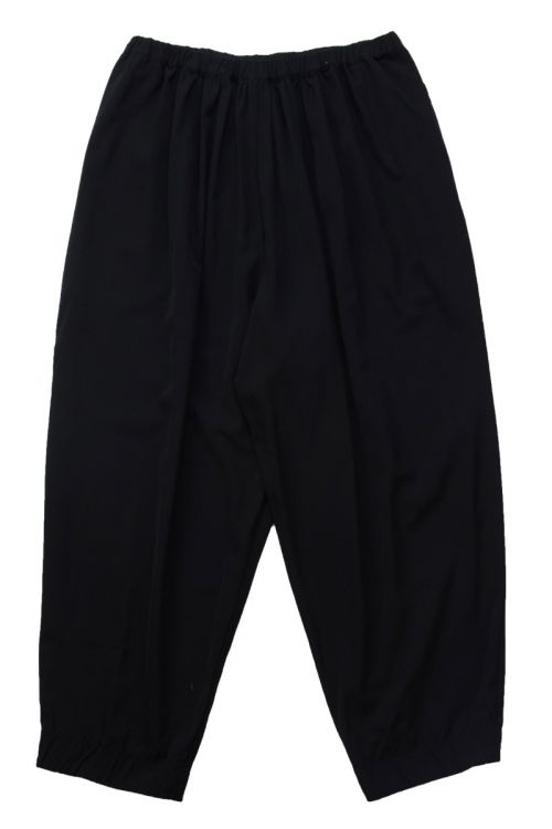 Cropped Trousers Nili Black by Manuelle Guibal