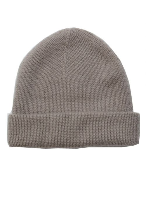 Cashmere Beanie Niklas Brown by Warm-Me-TU