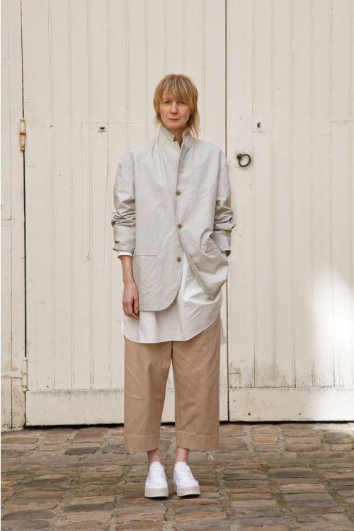Jacket Edouard Light Grey by Ecole de Curiosites