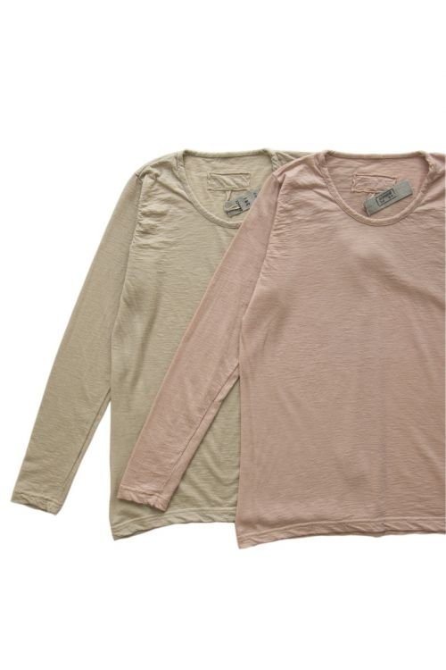 Fine Cashmere T-Shirt Sand by Private0204