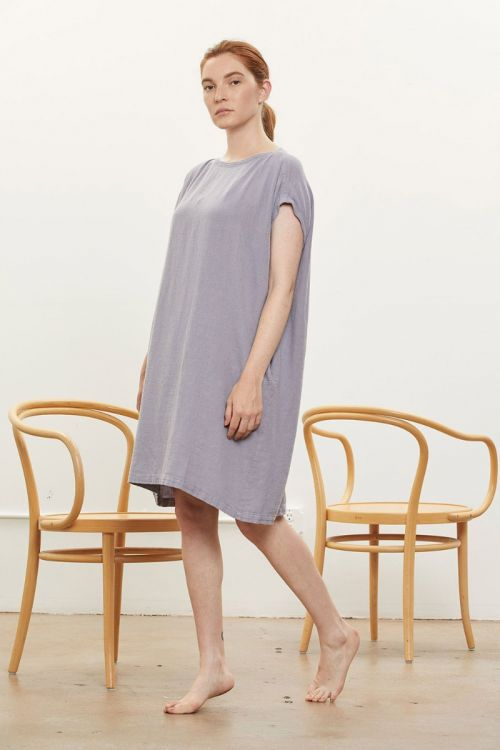 Box Dress Lavender by Black Crane-XS