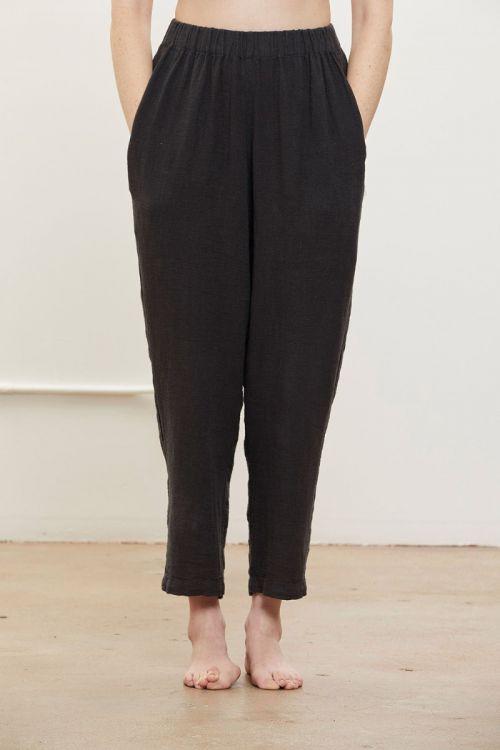 Easy Pants Faded Black by Black Crane