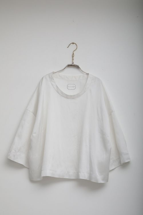 Top Thibaud White by Ecole de Curiosites