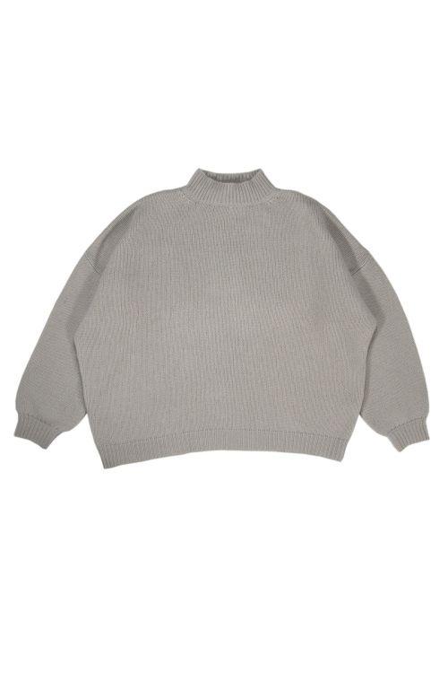 Oversized Sweater Olga Stone Cashmere by Warm-Me