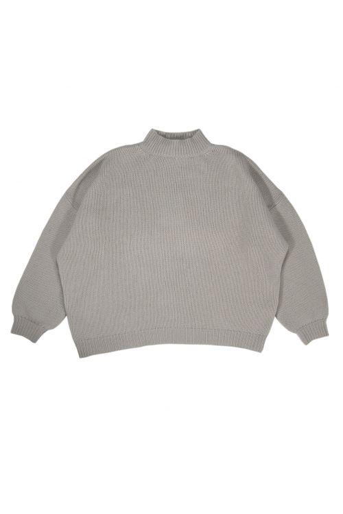 Oversized Sweater Olga Stone Cashmere by Warm-Me-TU