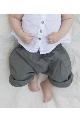 Baby Trousers Chicco Olive by Album di Famiglia