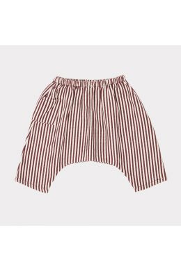 Baby Trousers Fluke Brown/Ecru Stripes by Caramel