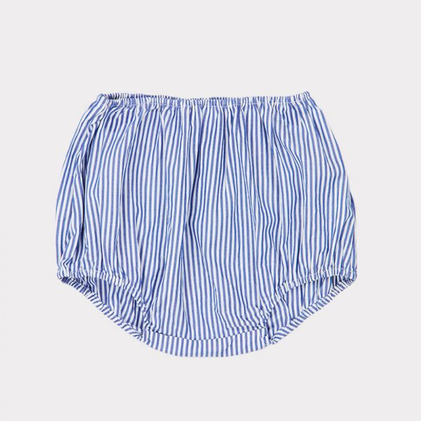 Baby Bloomer Grouper Blue/White Stripes by Caramel