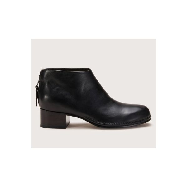 Ceremonial Mid Heel Leather Boot by Feit