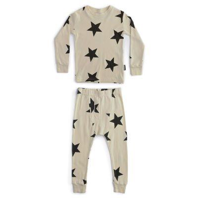 Star Print Loungewear Natural-4Y