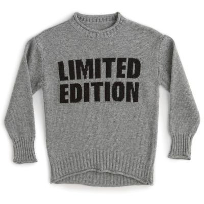 Woolen Knit Limited Edition Heather Grey by Nununu-4Y