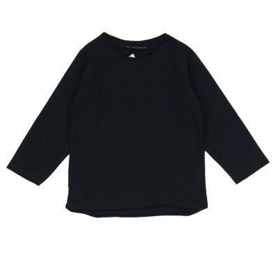 Cotton T-Shirt Millo Black by Album di Famiglia