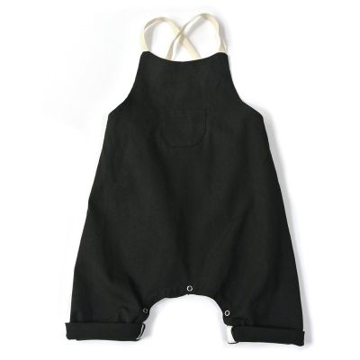 Baby Overall Oreto Black by Anja Schwerbrock-3M