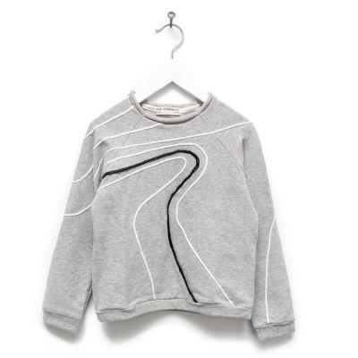 Sweater Loro Grey Marl by Anja Schwerbrock
