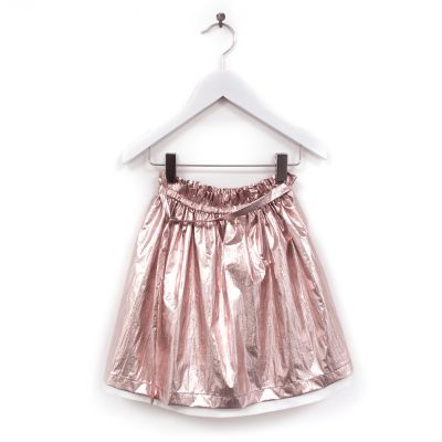 Skirt Tonia Metallic Pink by Anja Schwerbrock