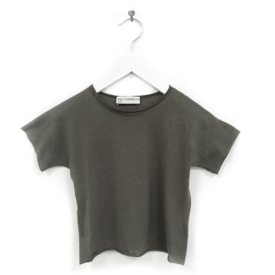 Baby T-Shirt Beni Charcoal by Anja Schwerbrock