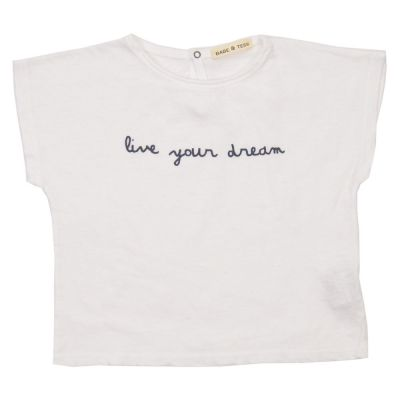 Baby T-Shirt Live Your Dream by Babe & Tess