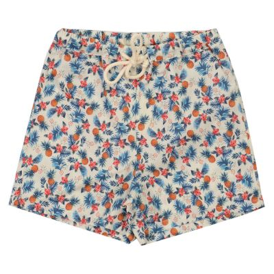 Baby Short with Pineapple Print by Babe & Tess