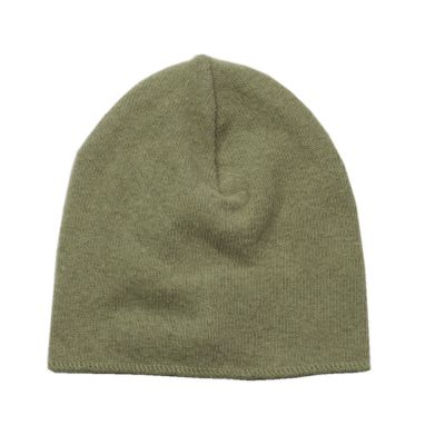 Soft Jersey Baby Beanie Light Green by Babe & Tess-3M
