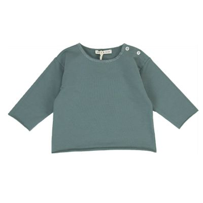 Jersey Baby Sweatshirt Military Green by Babe & Tess