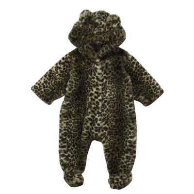 Baby Overall Leopard Print by Babe & Tess