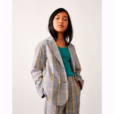 Blazer Chick Blue/Yellow Striped by Bellerose