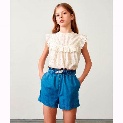 Shorts Ava Stone Wash by Bellerose
