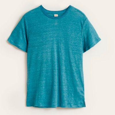 Linen T-Shirt Mio Blue Eyes by Bellerose-4Y