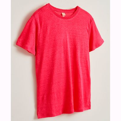 Linen T-Shirt Mio Oeillet by Bellerose