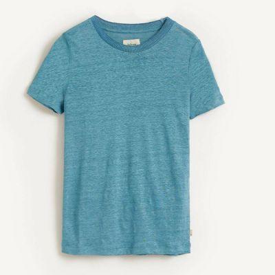 Linen T-Shirt Mogo Blue Eyes by Bellerose-4Y