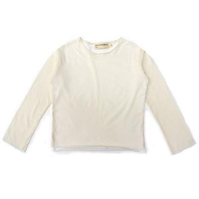 T-Shirt Beni Ivory/White-4Y