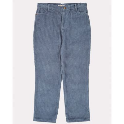 Cord Trousers Crow Steel Blue by Caramel