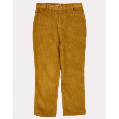 Cord Trousers Crow Mustard-3Y